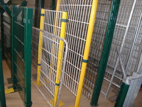 Metal Wire Snow Fence - Temporary Fence Panels