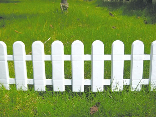Charmant Plastic Garden Fence