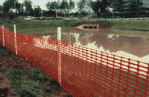 Plastic Mesh Safety Fence For Snow Guard And Crowd Control