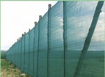 Application Of Plastic Mesh And Fences